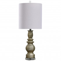 Romani Champagne Table Lamp