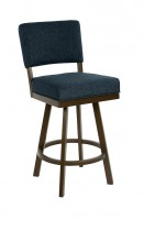 "Miami Swivel Back No Arms 26"" Stool"
