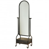 Cheval Mirror w/Drawer