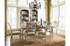 Canterbury Table with 4 Side Chairs and 2 Armchairs