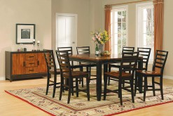 Abaco Counter Height Dining Table & 4 Counter Height Stools
