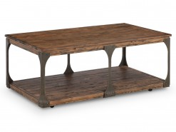 Montgomery Rectangular Cocktail Table w/Casters