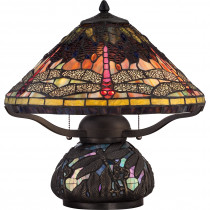 Tiffany Cooper Fly Table Lamp