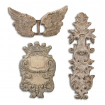 Rustic Artifacts Wall Decor Set of 3 *